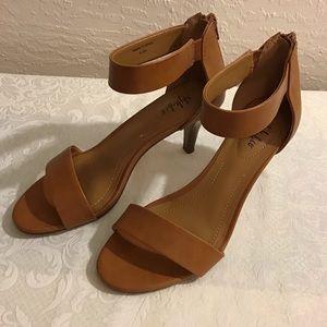 Style & co Tan Heels